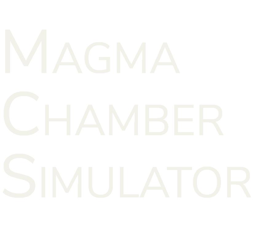 Magma Chamber Simulator - UC Santa Barbara